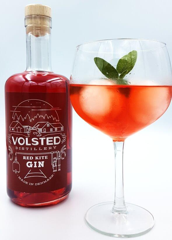 Gin, Red Kite, Volsted Distillery