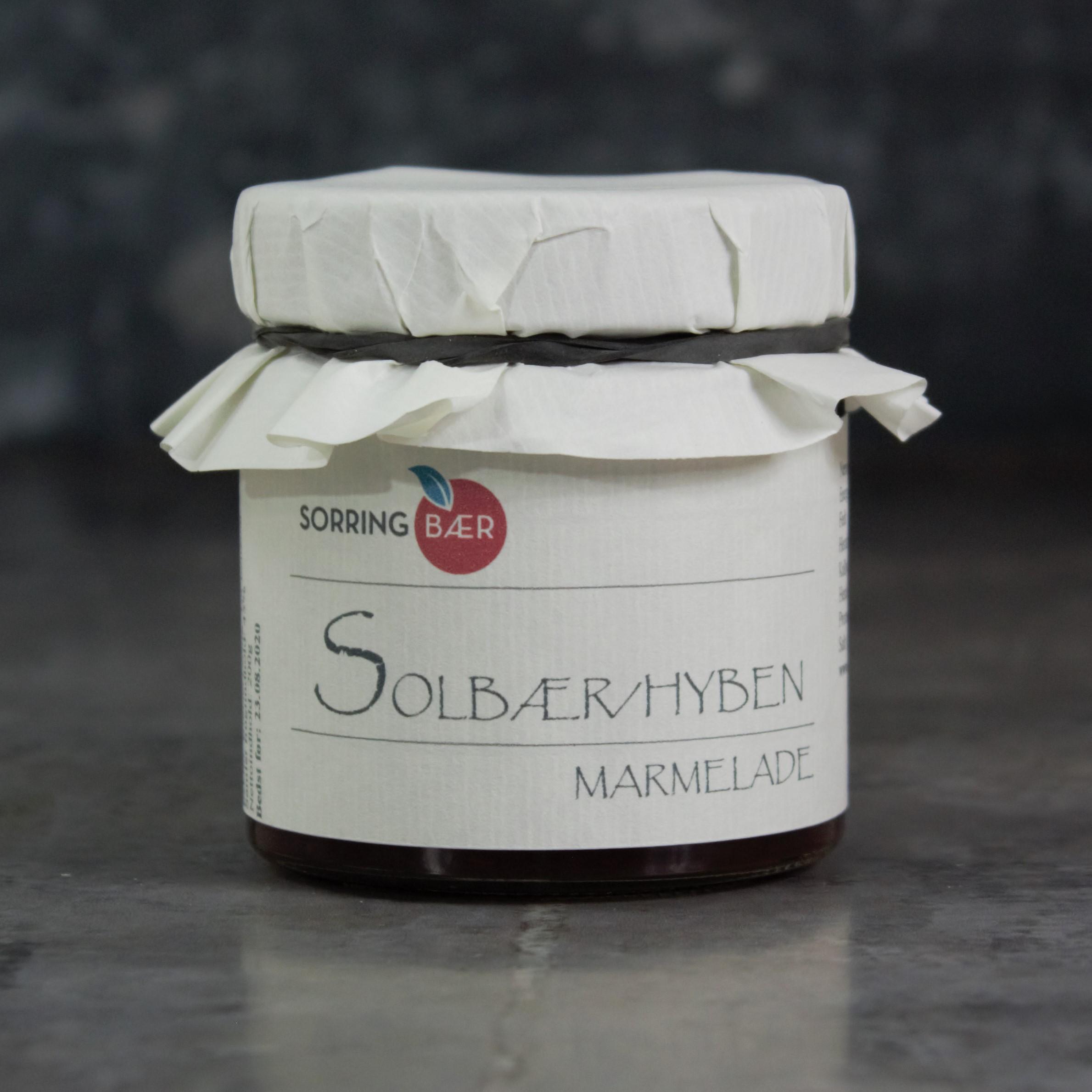 Solbær/ hybenmarmelade, 200g