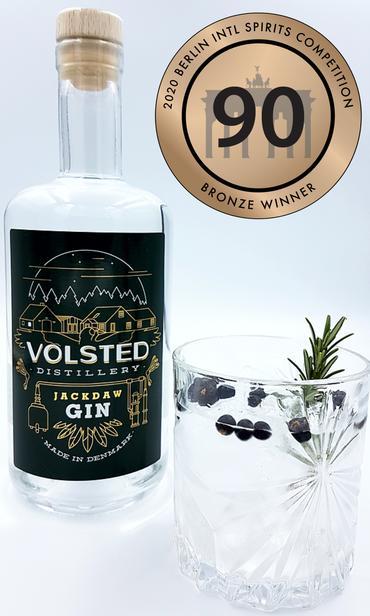 Gin, Jackdaw, Volsted Distillery