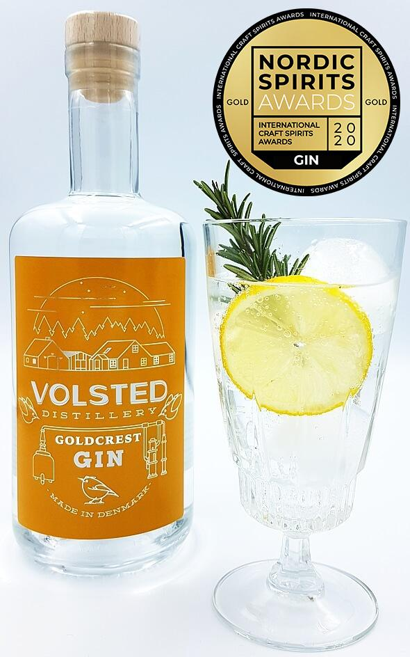 Gin, Goldcrest, Volsted Distillery