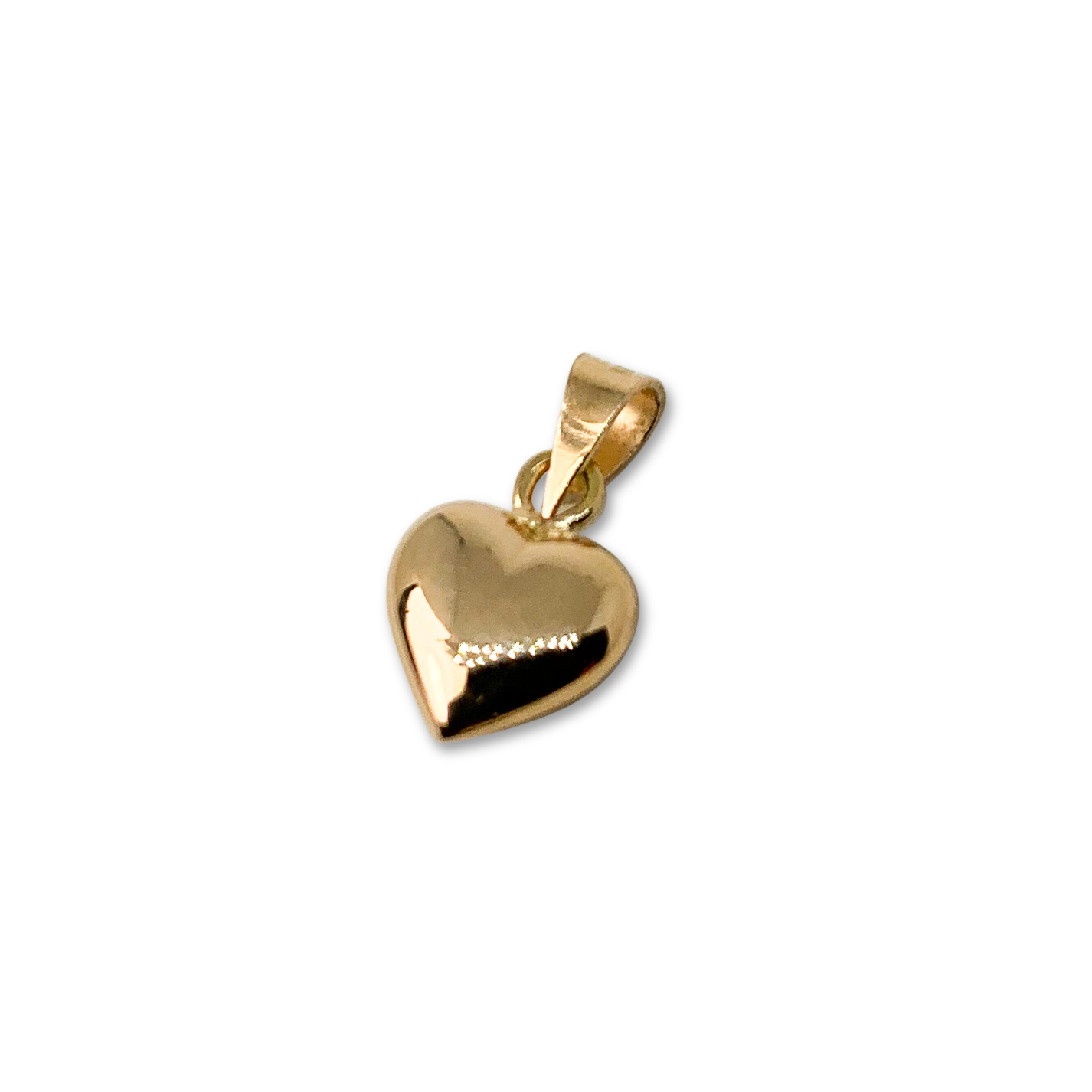 Hänge Guld Hjärta