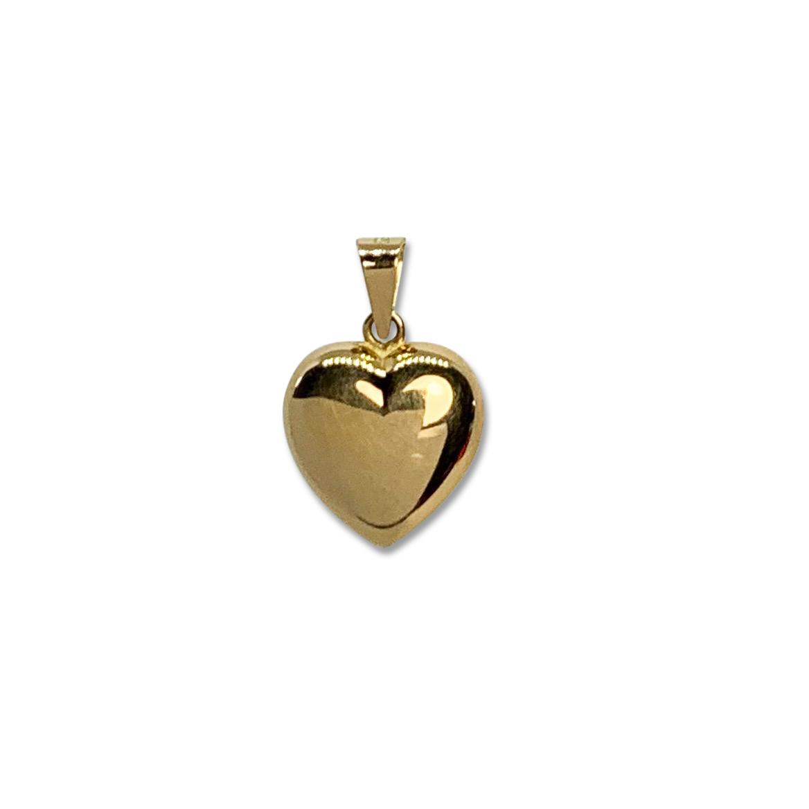 Hänge Hjärta Guld