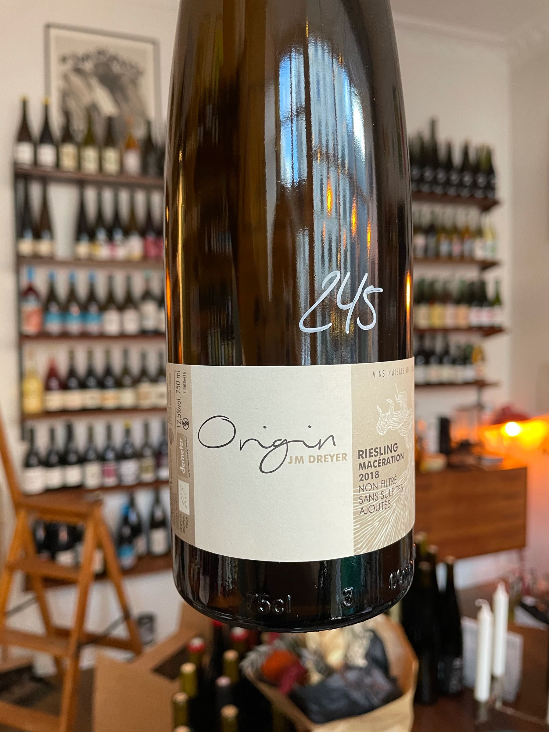Origin Riesling 2018 - Jean Marc Dreyer