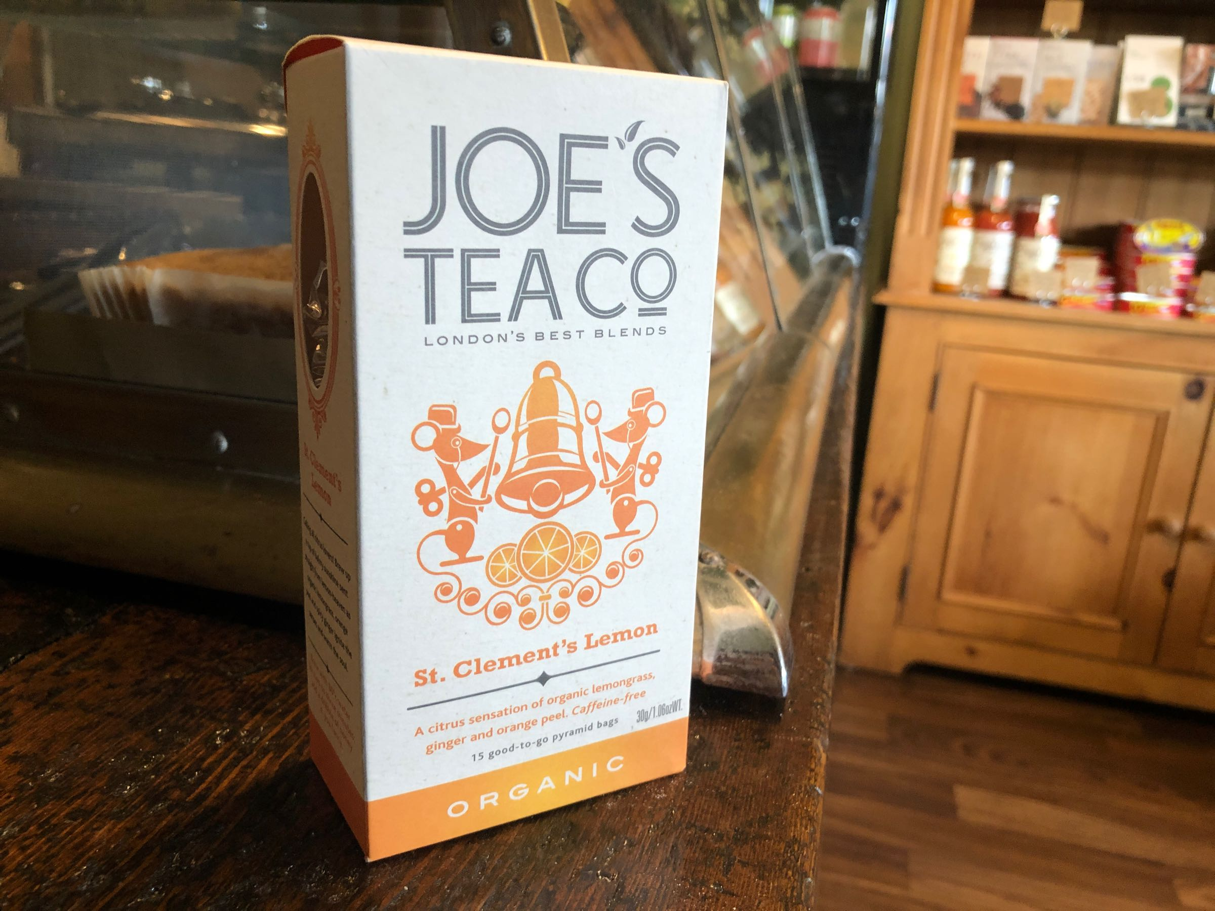 Joe's Tea Co. St. Clement's Lemon - Organic