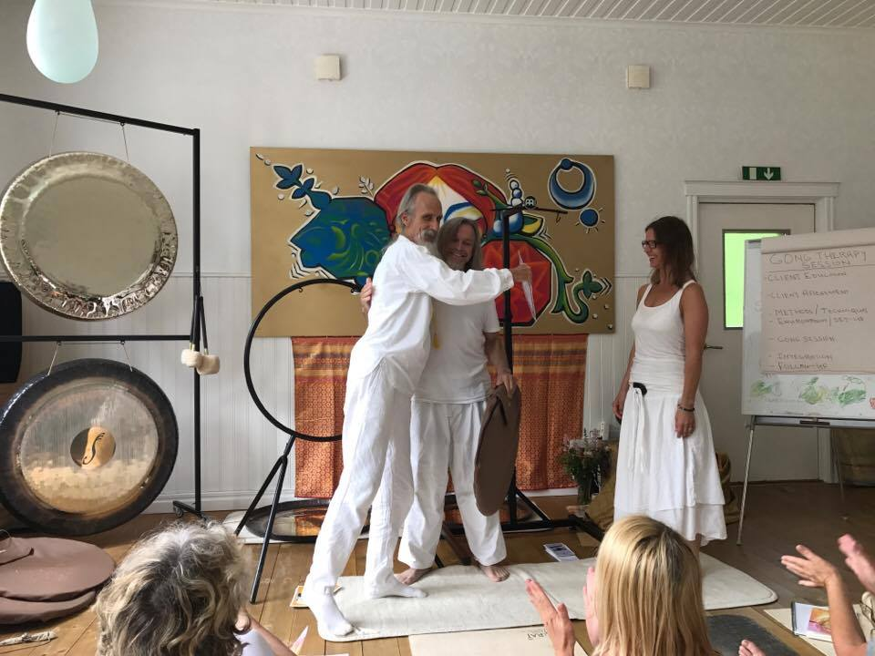 The therapeutic gong 18-20 Jun