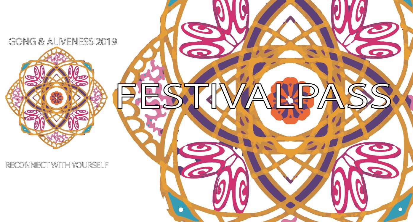 Festivalpass Gong & Aliveness 2019