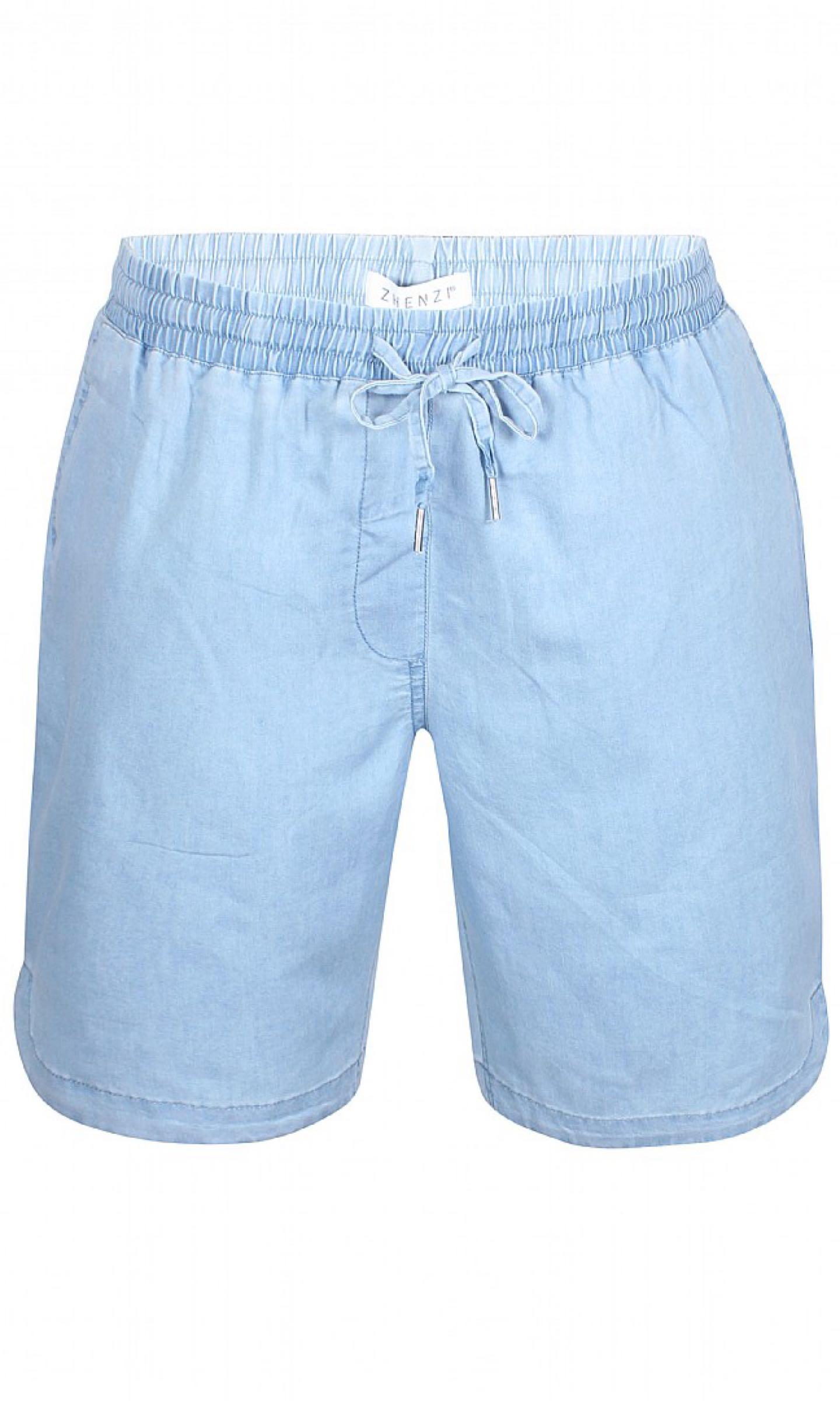 Shorts, ljus denim