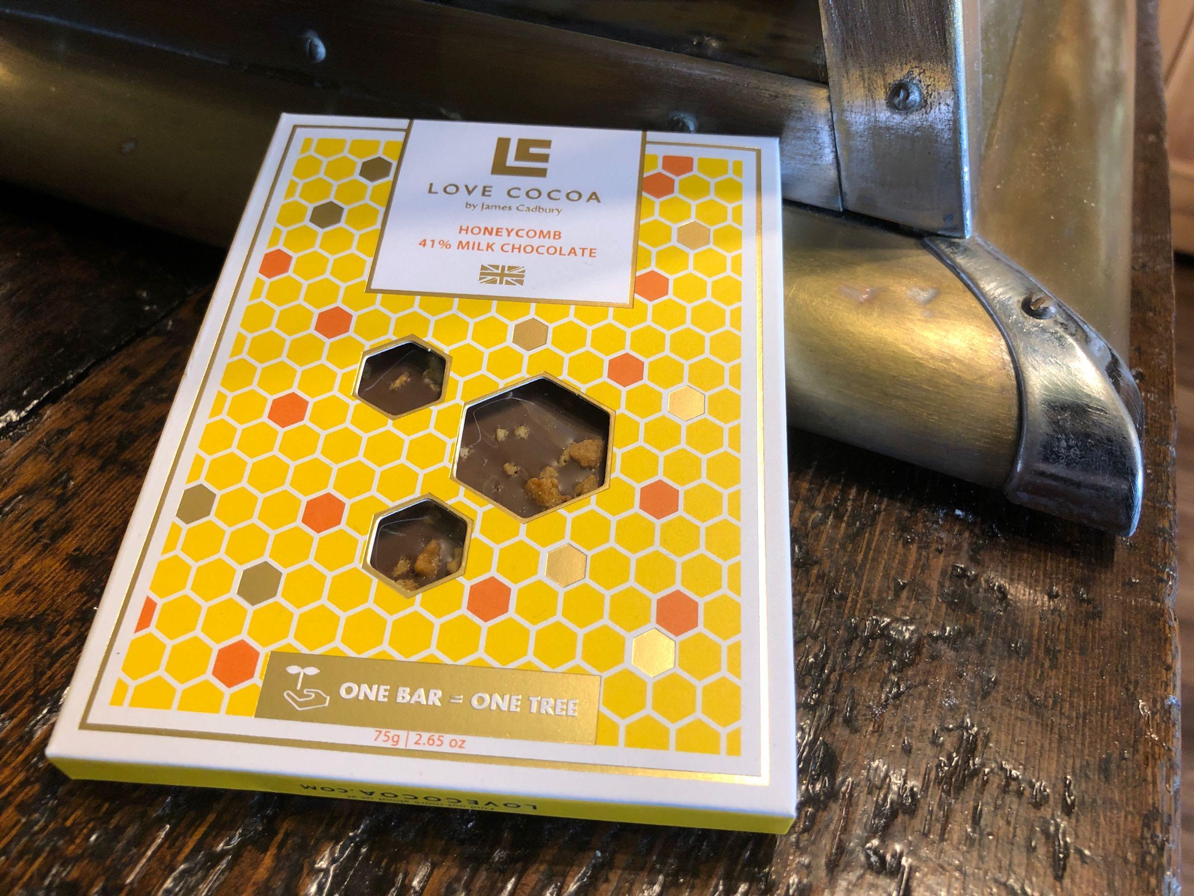 Love cocoa – Honeycomb & Honey Milk 80g