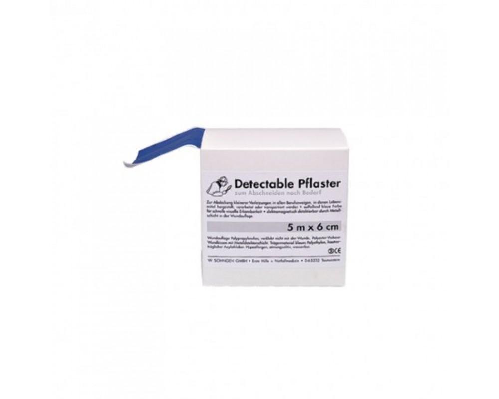 Detectable plaster, til fødeindustrien. BLÅ
