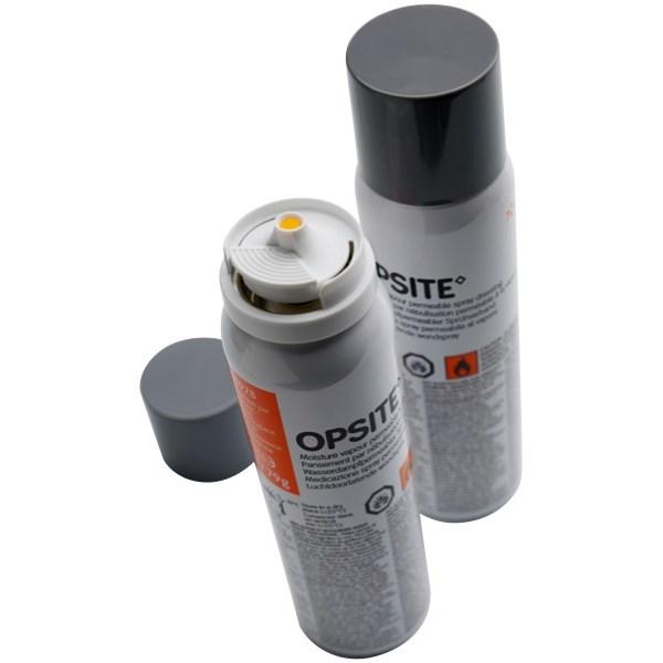OpSite spray plaster.