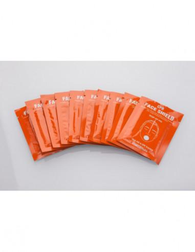 Ansigtsmaske til BAYDEN™ førstehjælpsdukke 10 stk.