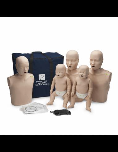 Førstehjælpsdukke PRESTAN™ Familie 5 x TRÆNINGSDUKKER