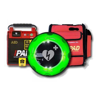 IPAD™ NF1200 Hjertestarterpakke med udendørs varmeskab
