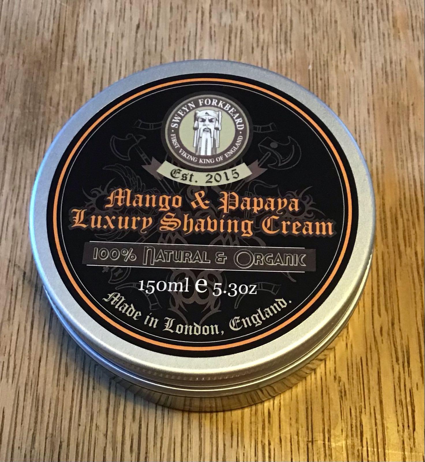 SF Mango & Papaya Shaving  Cream