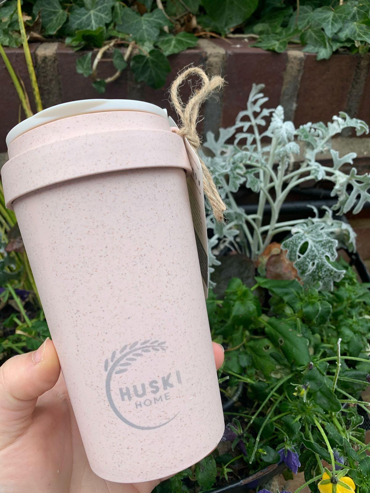 Rice Husk Coffee Cup 400ml