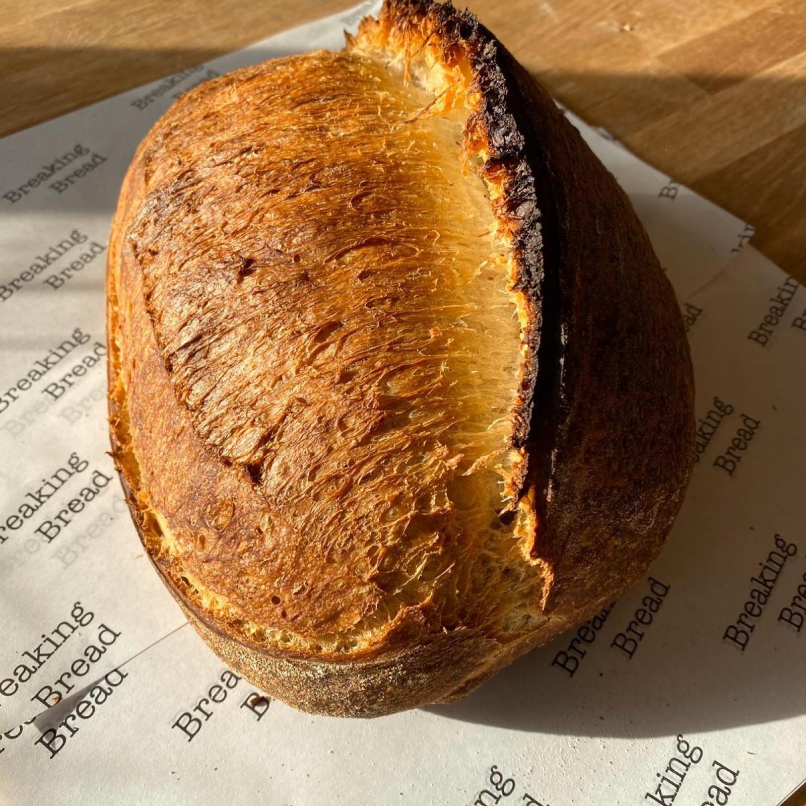 Breaking Bread White Sourdough Bread  (400g)