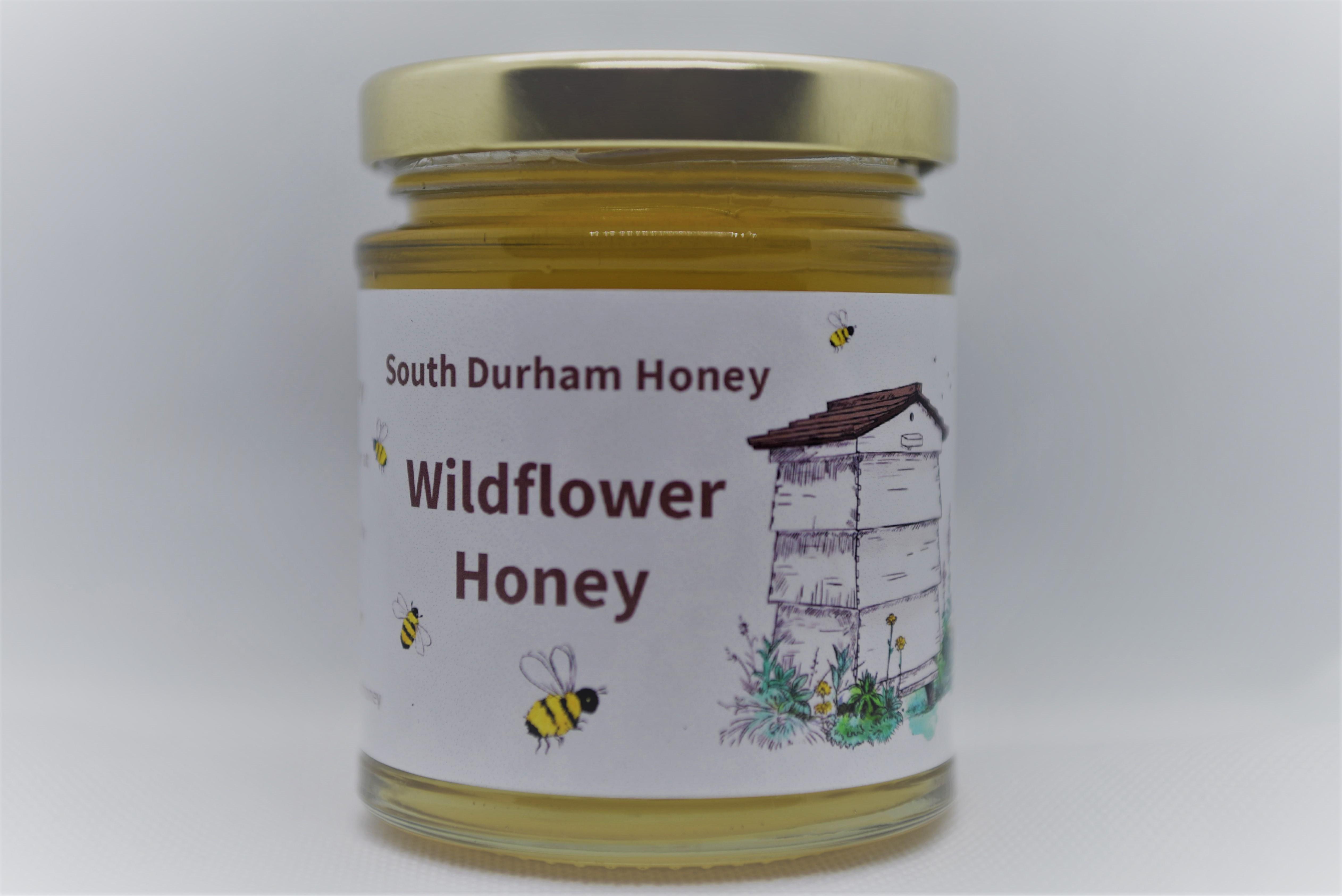 South Durham Wild Flower Honey 240g