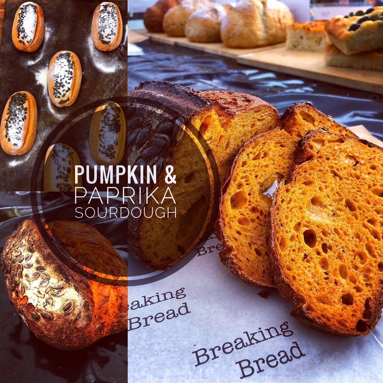 Breaking Bread Pumpkin & Paprika Sourdough