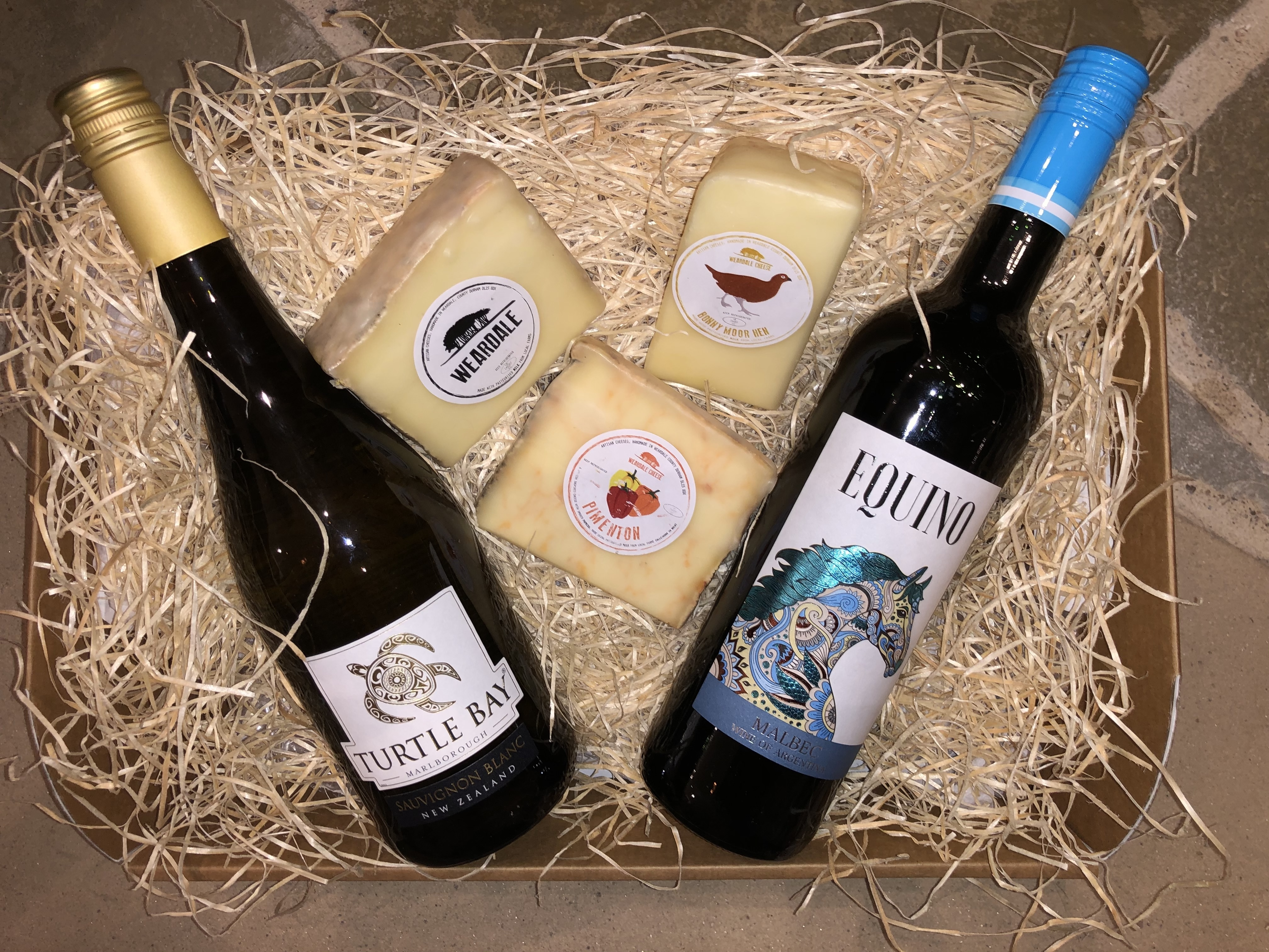 Clarks Hamper - Wine & Cheese