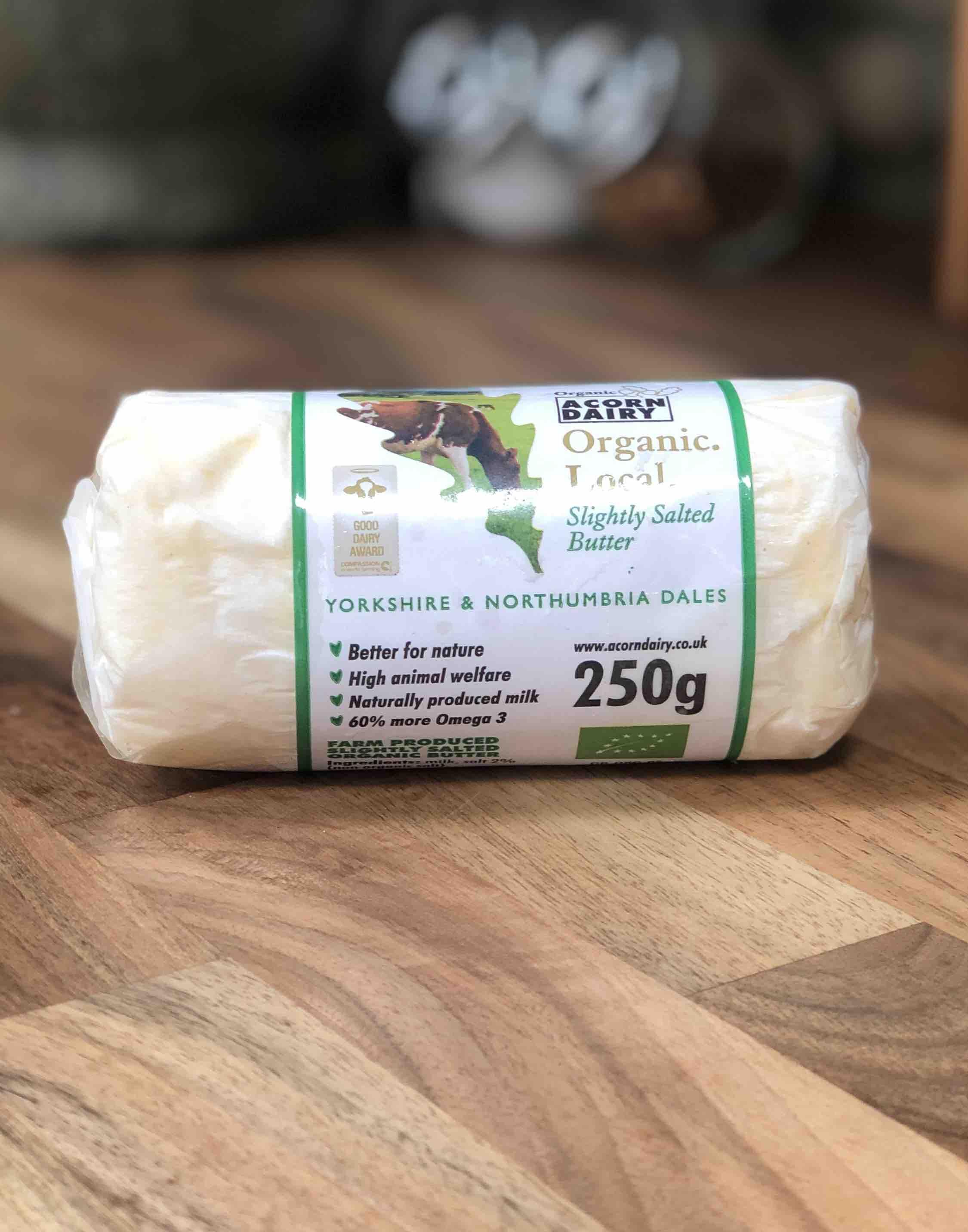 Acorn Organic Butter 250g