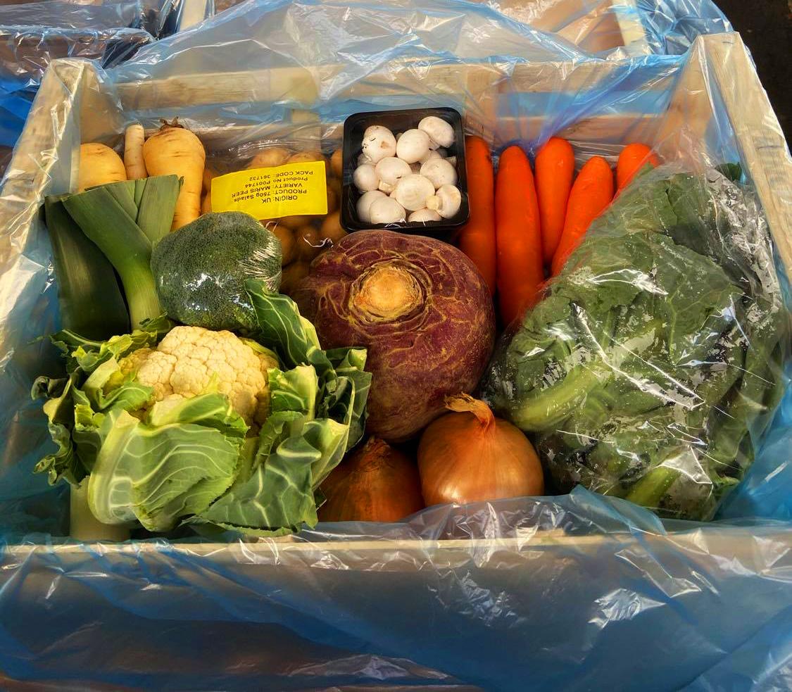 Vegetable Box (10 items)