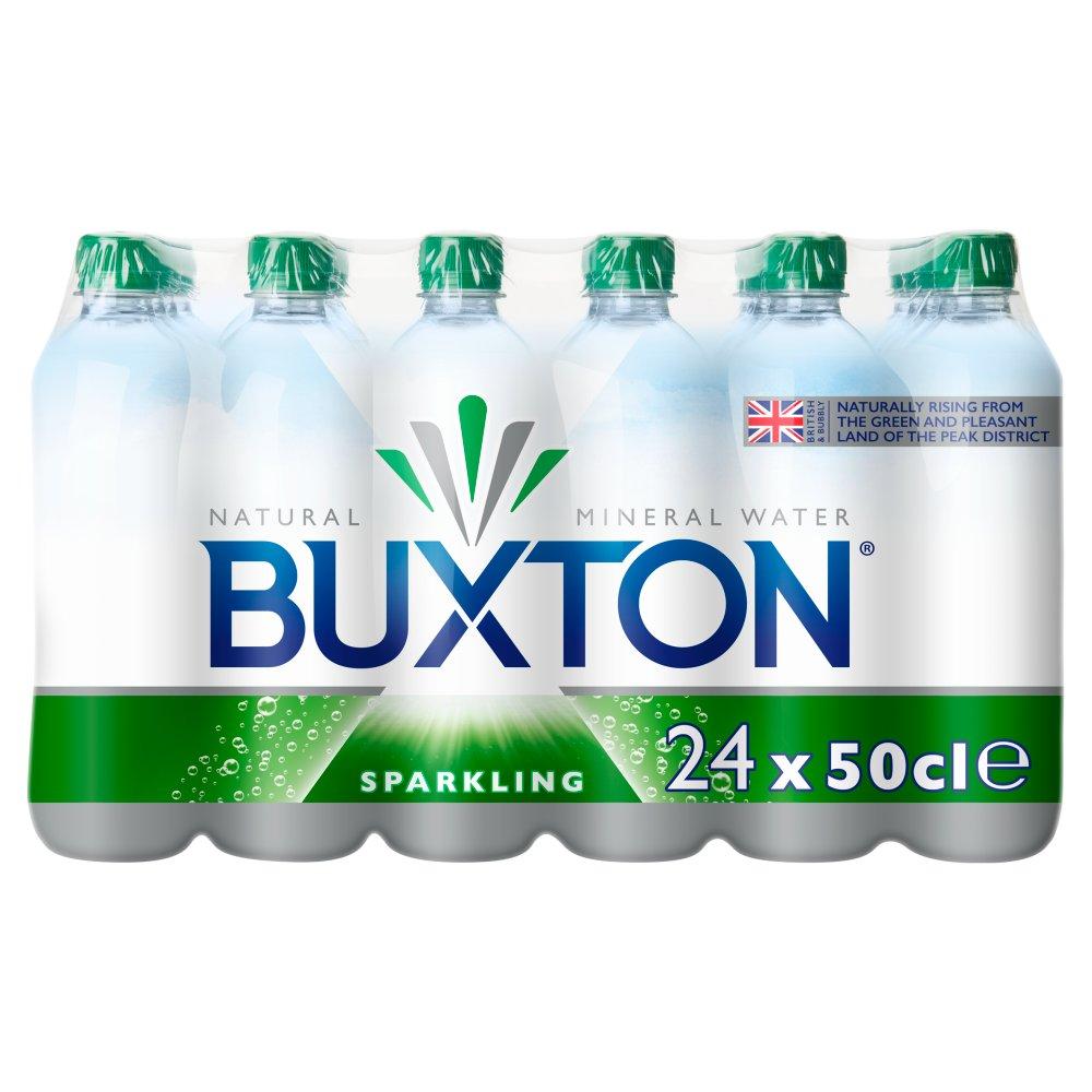 Bulk Buy Buxton Sparkling Water 24 x 500ml