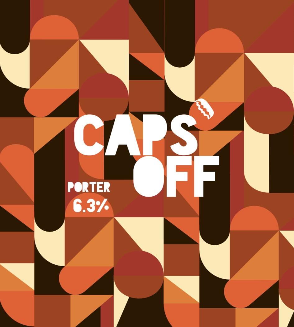 Caps Off - Porter  – 6.3% 330ml