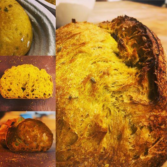 Breaking Bread Tumeric & Fennel Sourdough