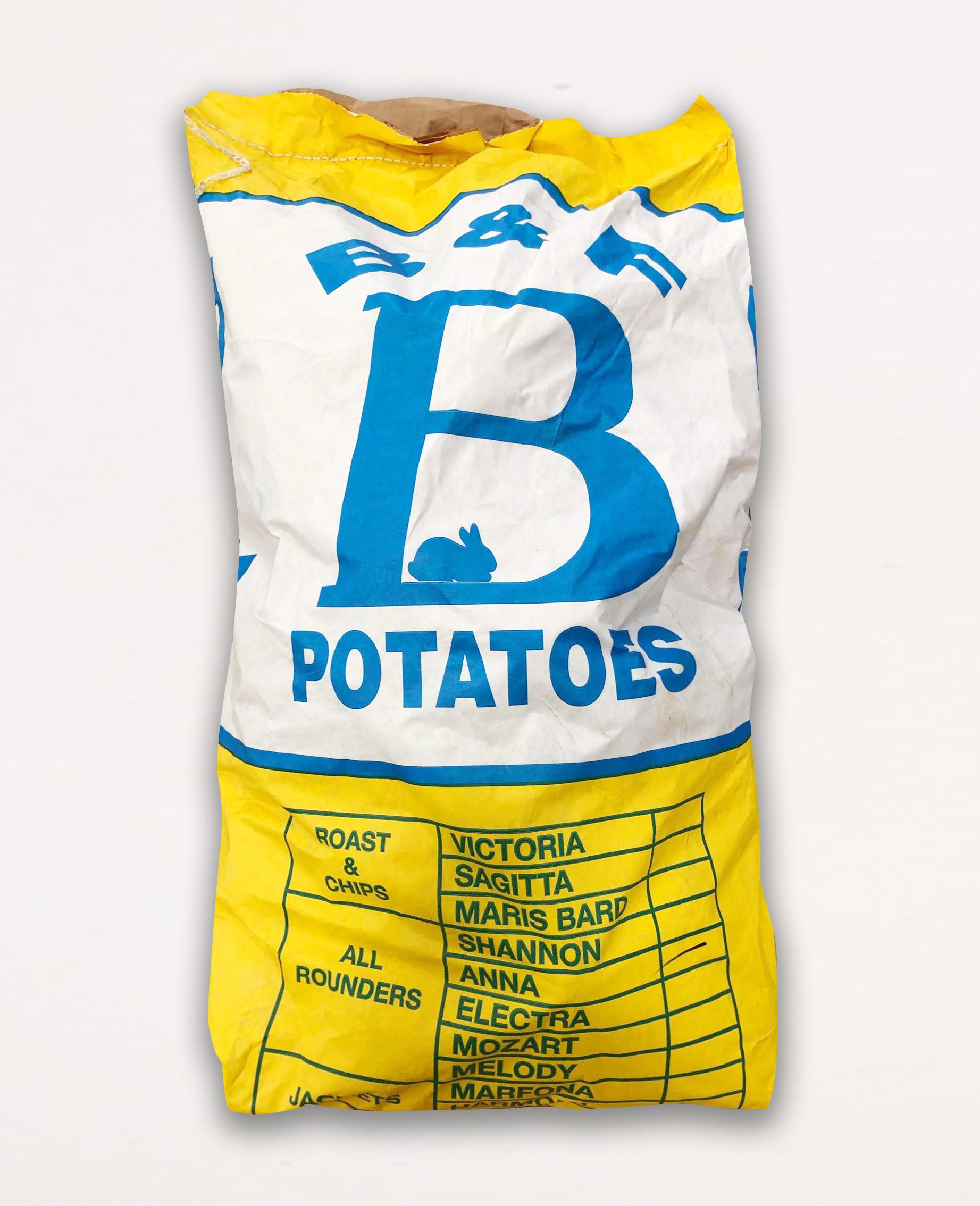 1 x 25kg Loose Potatoes