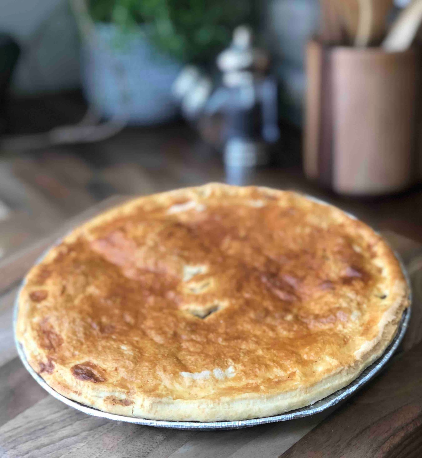 Home Baked Chicken & Leek Pie