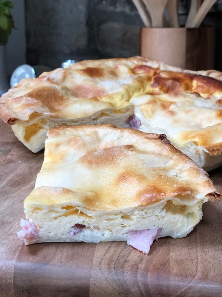 Home Baked Bacon & Egg Pie