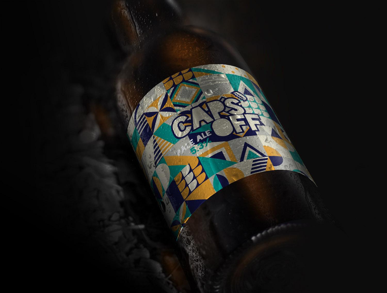 Caps Off - Summer Pale Ale – 5.3% 330ml