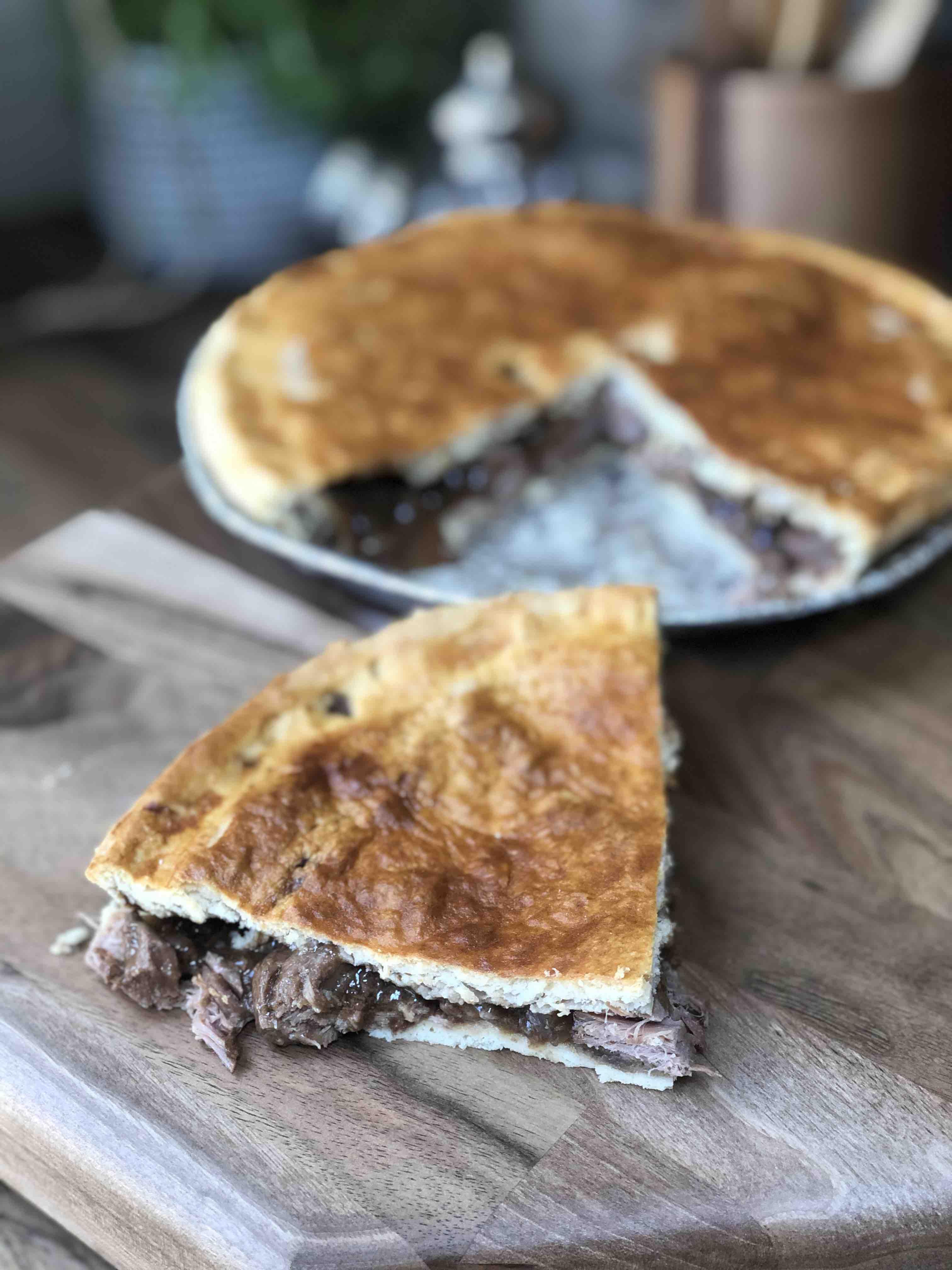 Home Baked Steak Pie