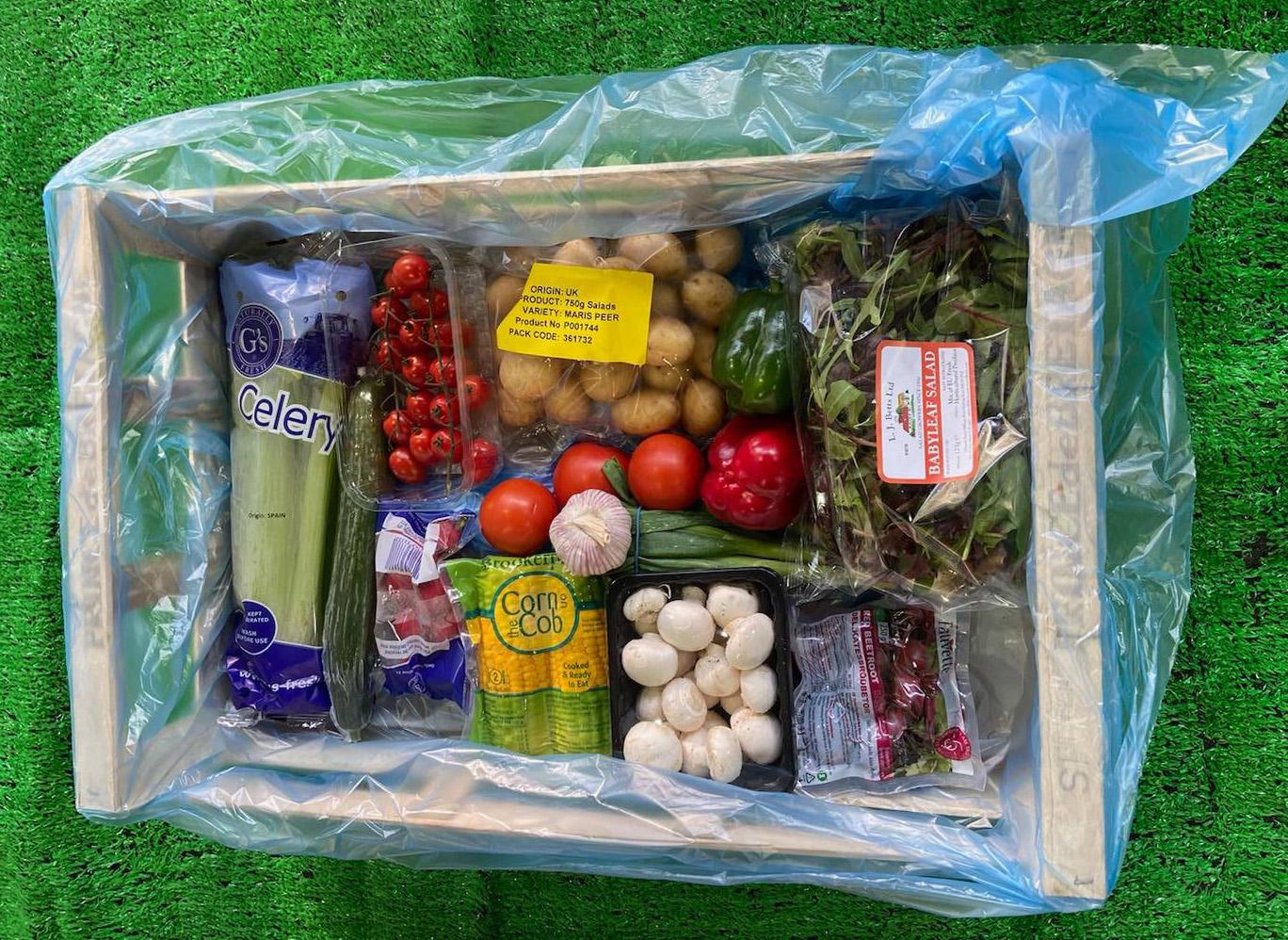 Salad Box (12 items)