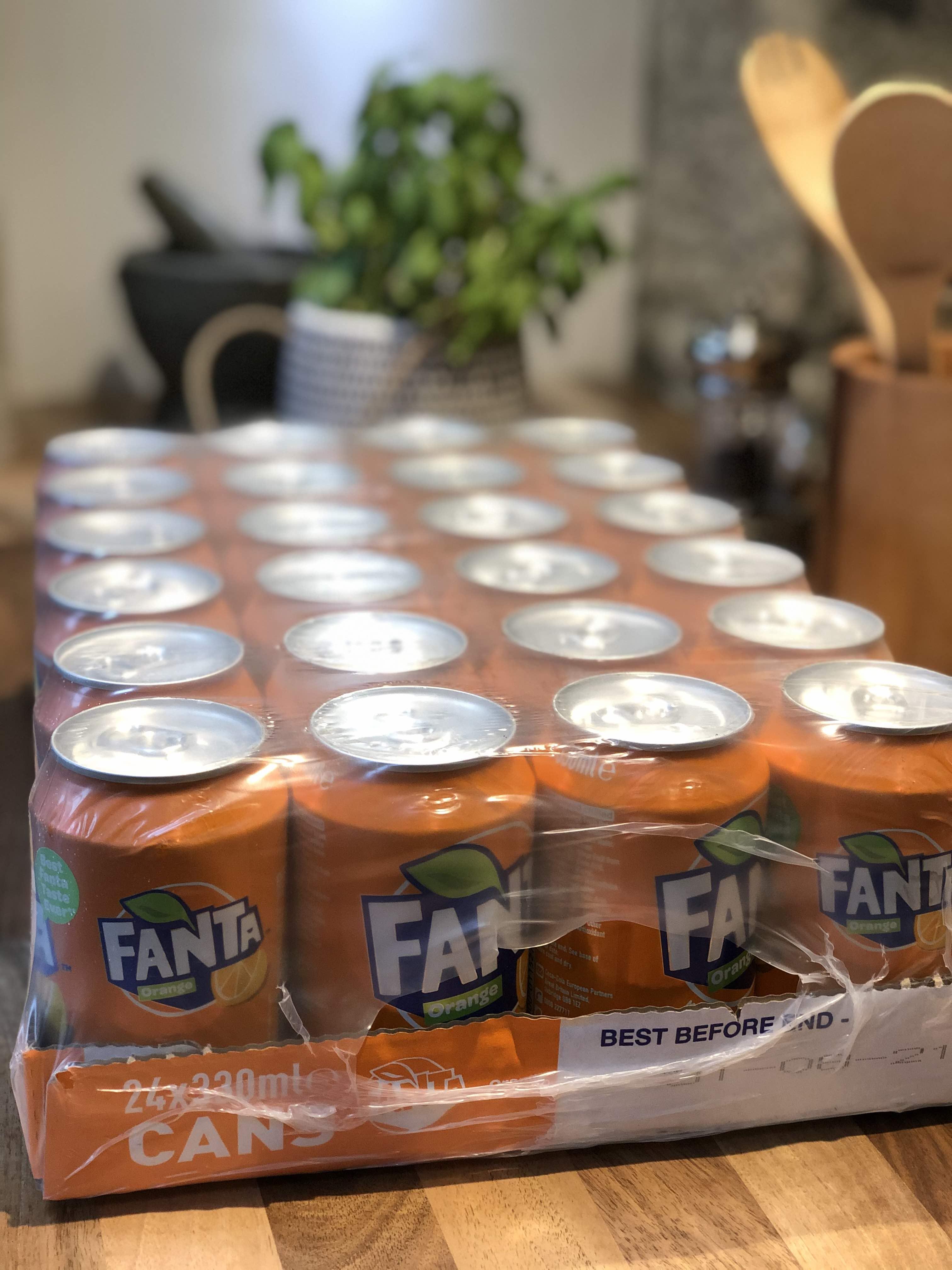 Bulk Buy Fanta Orange - 24 x 330ml