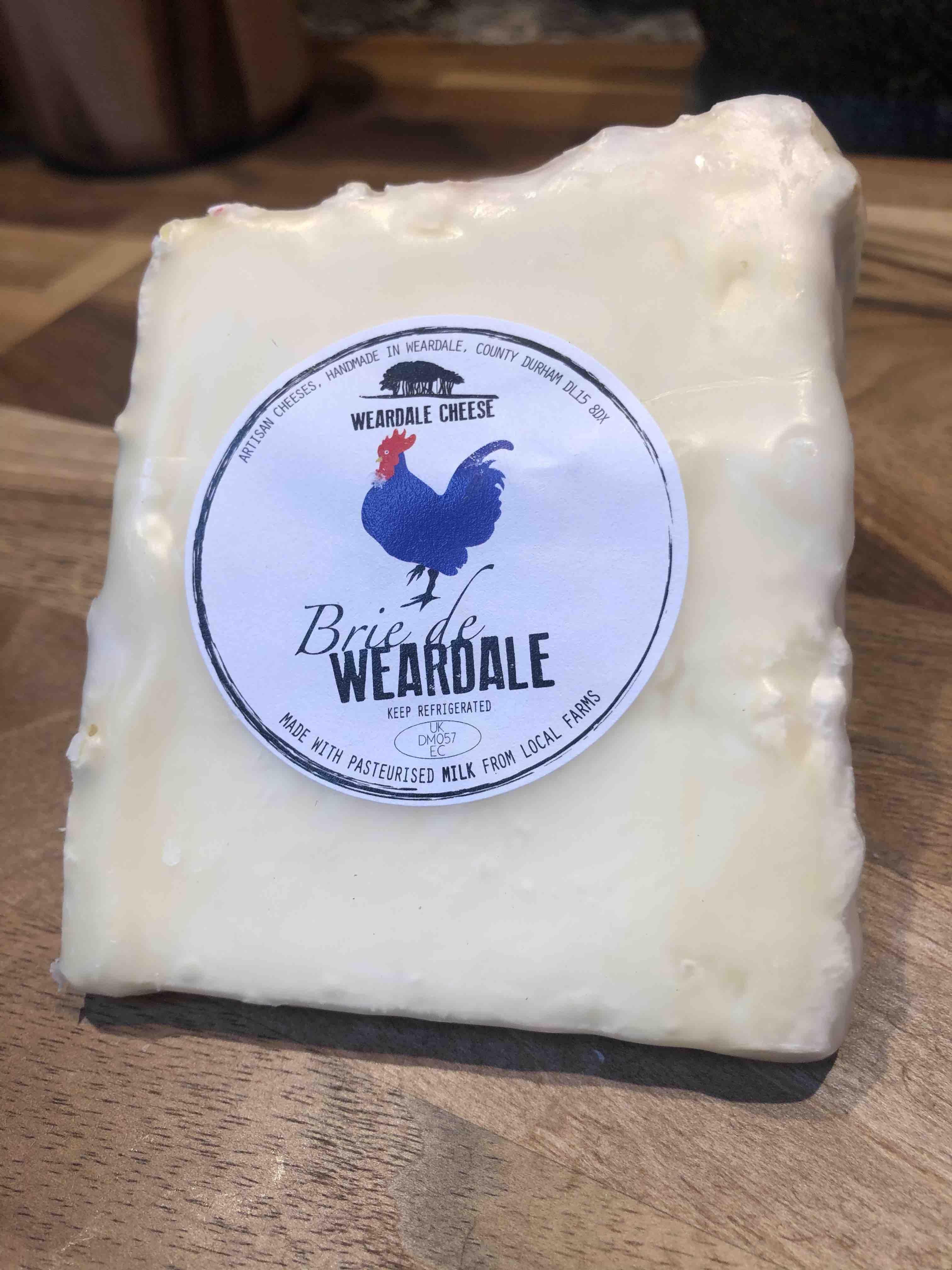 Weardale Cheese 'Brie de Weardale' (160g)