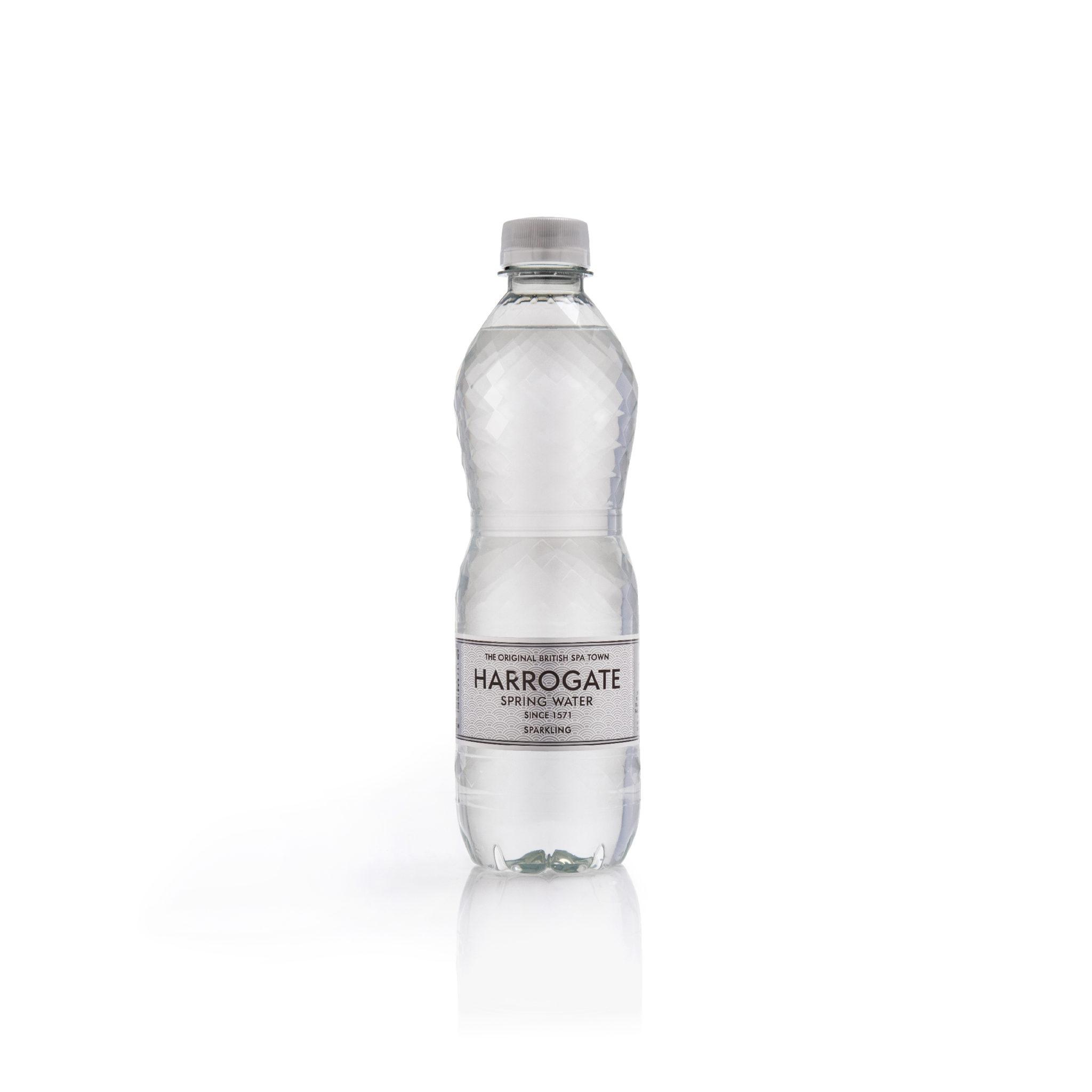 Bulk Buy Harrogate Sparkling Spring Water 24 x 500ml