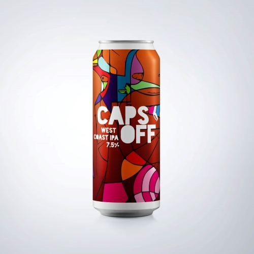 Caps Off West Coast IPA 7.5% (440ml)
