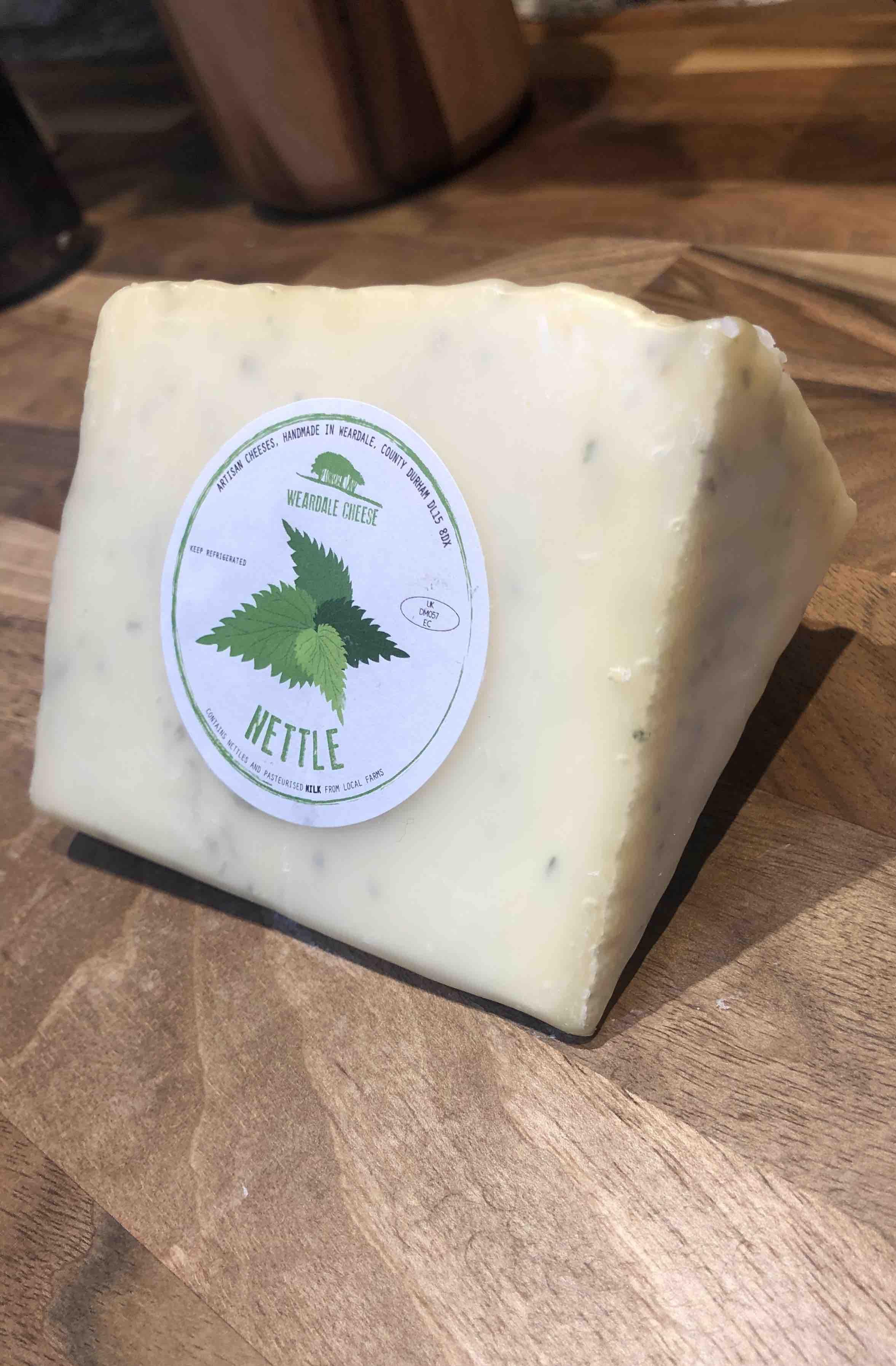 Weardale Cheese 'Nettle' (160g)