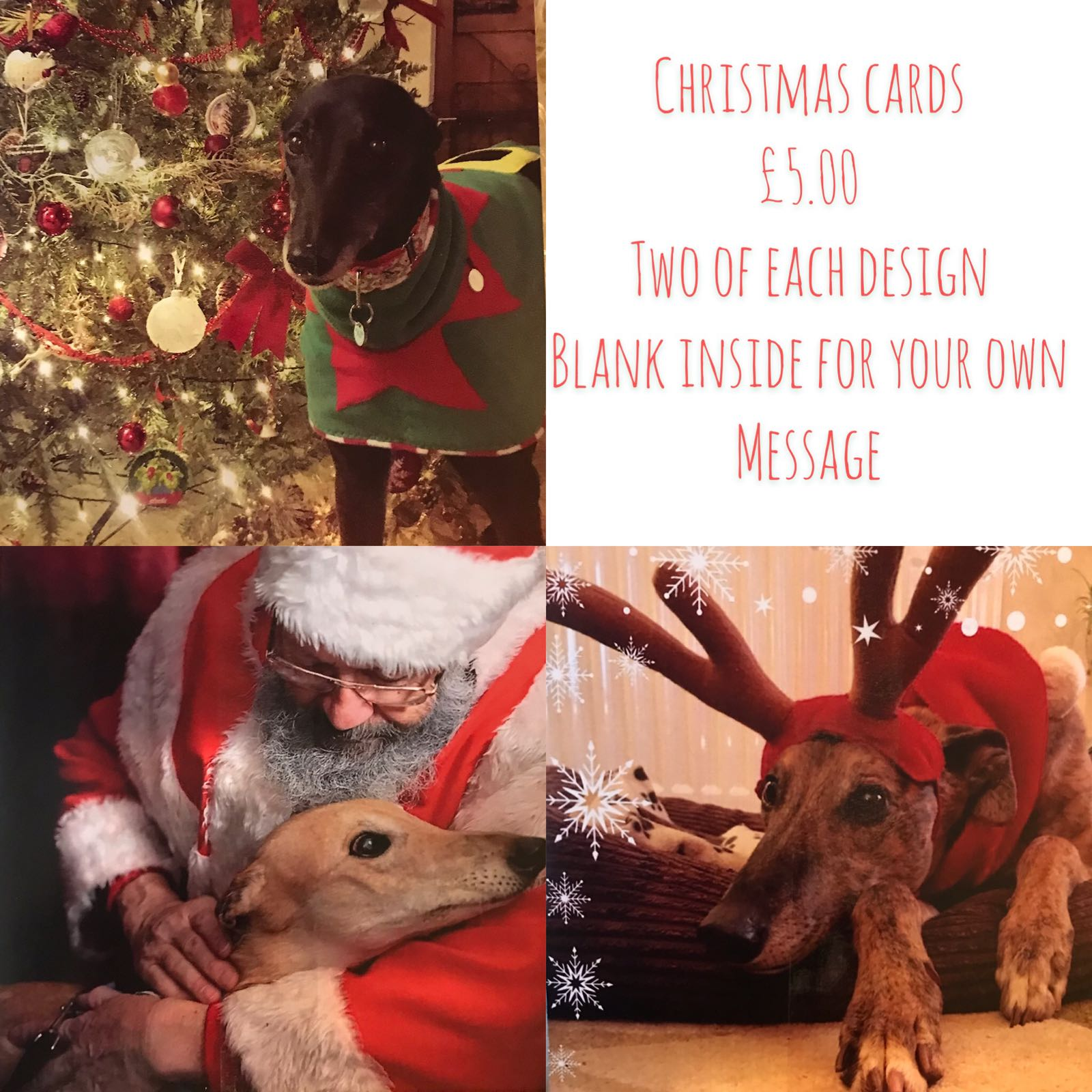 (A) Christmas cards