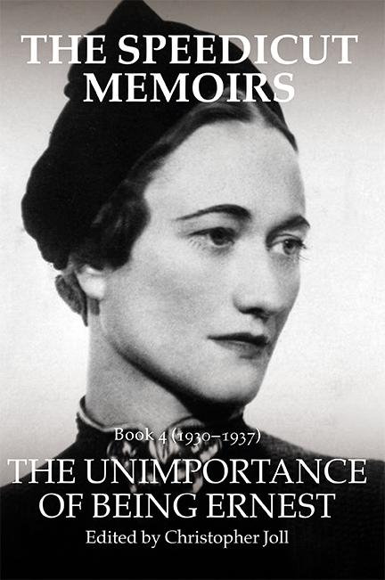 The Speedicut Memoirs - Book 4 (1930-1937)