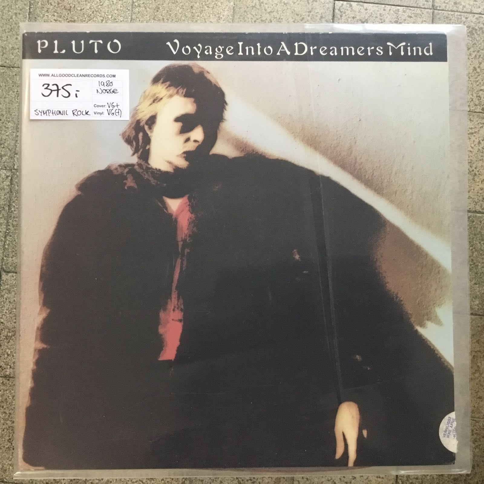 Pluto – Voyage Into A Dreamers Mind [LP] (2. hand)