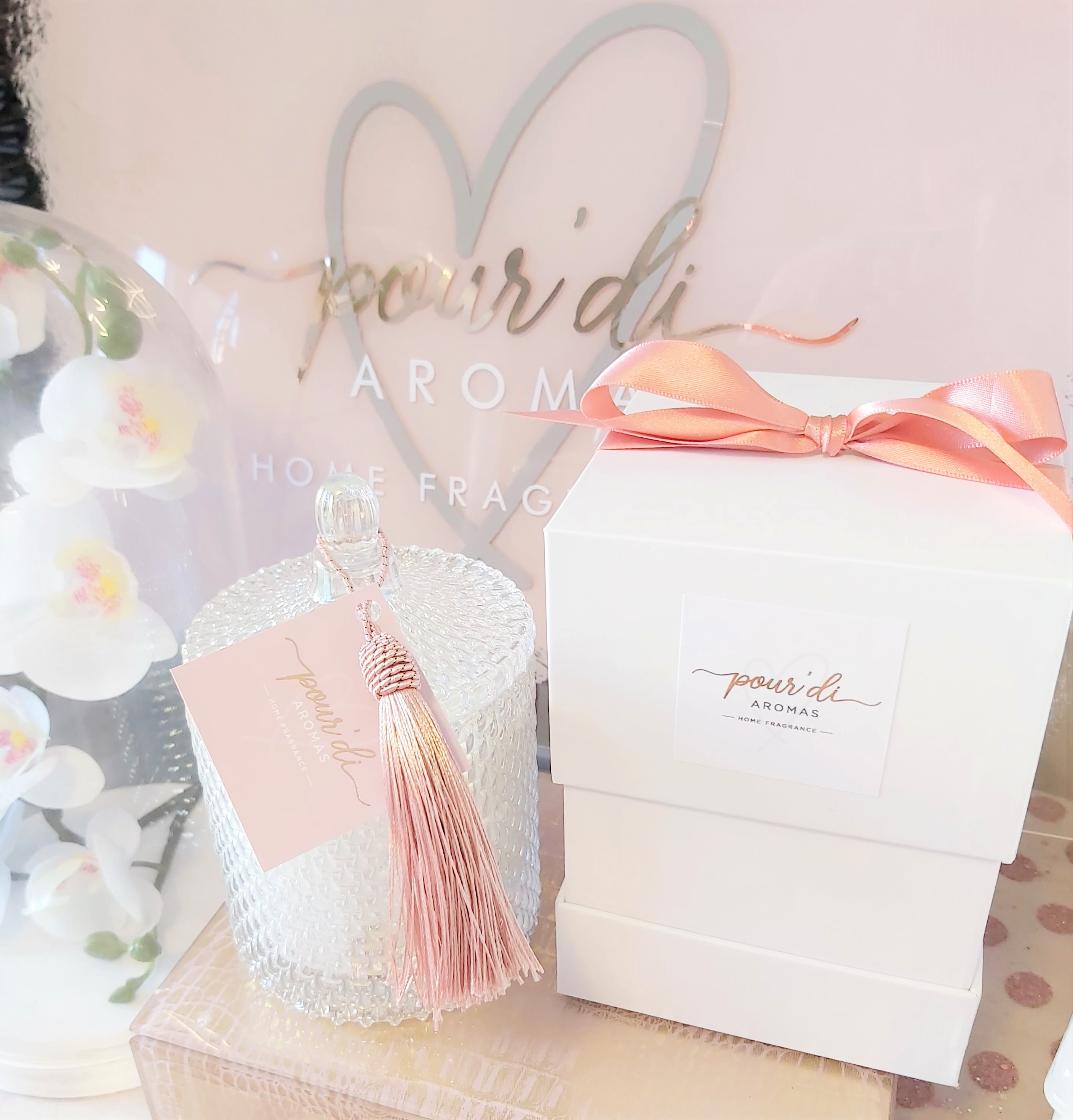 Luxe Boutique Candle Gift Box