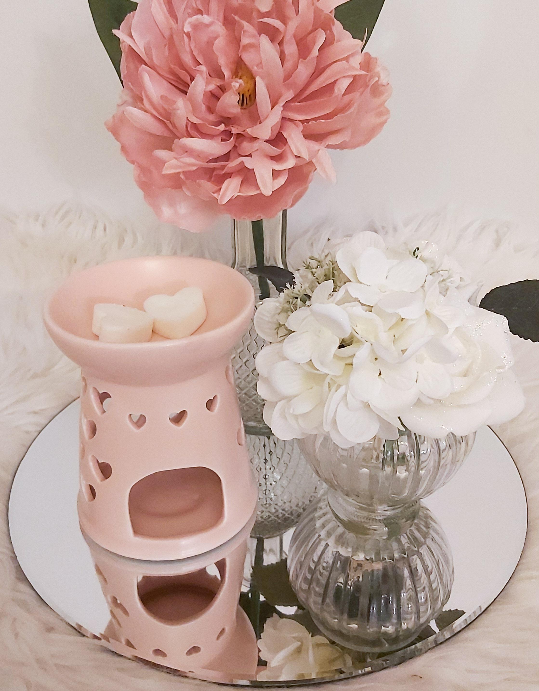 Blush Pink Heart Burner