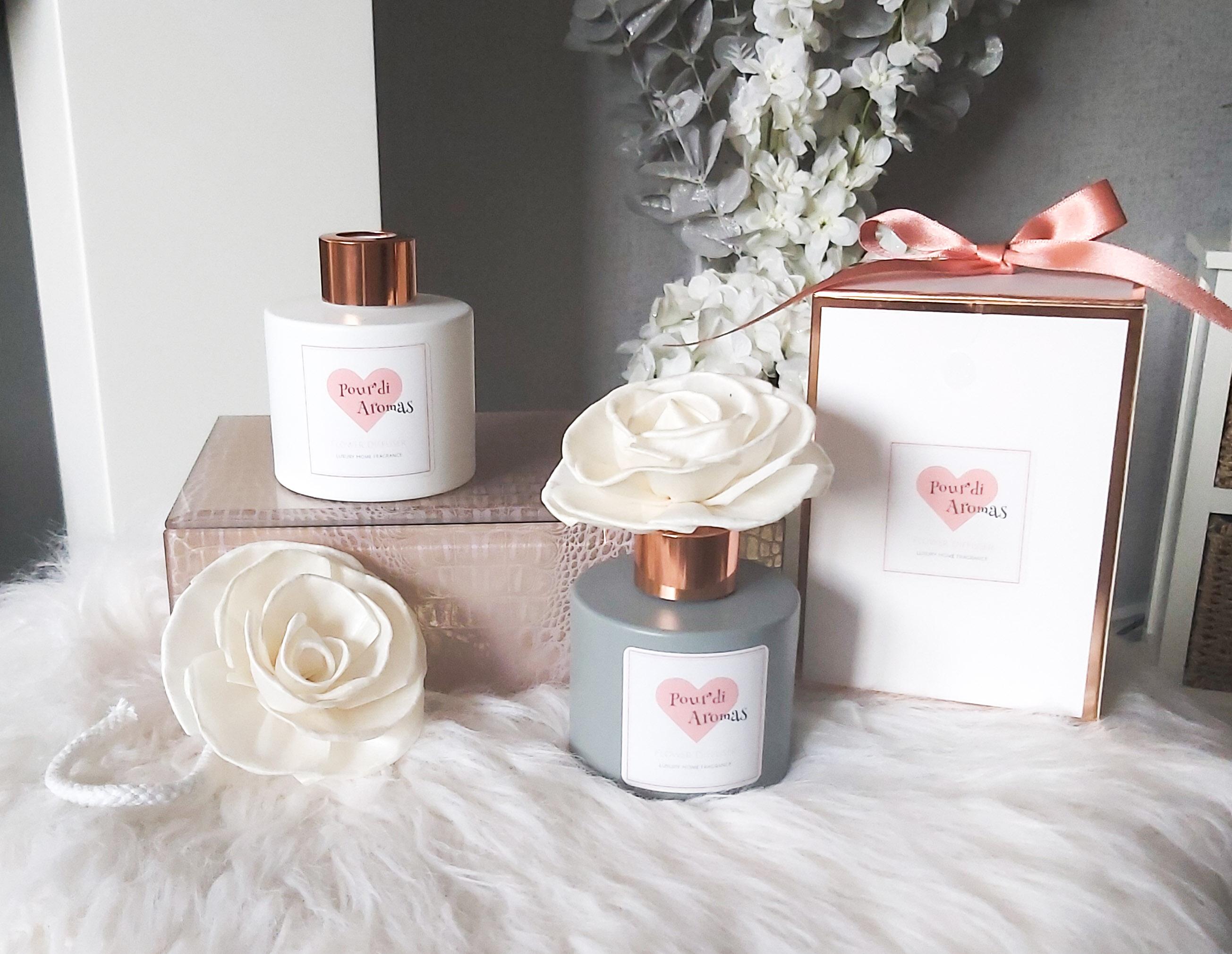 White Flower Diffuser