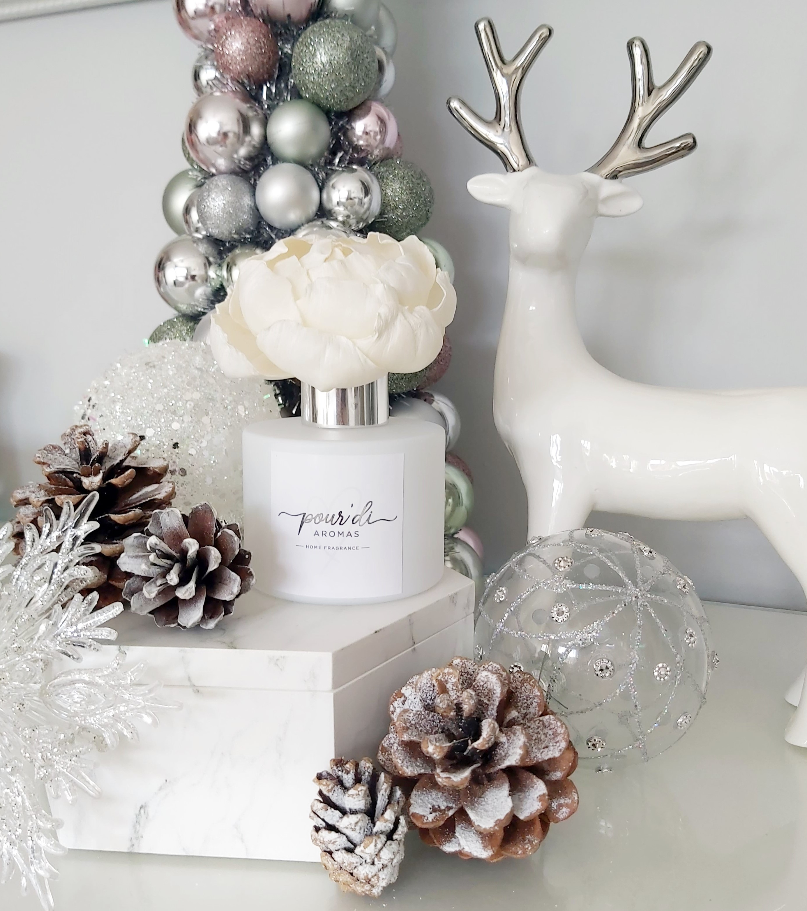 SALE Winter Collection Flower Diffuser