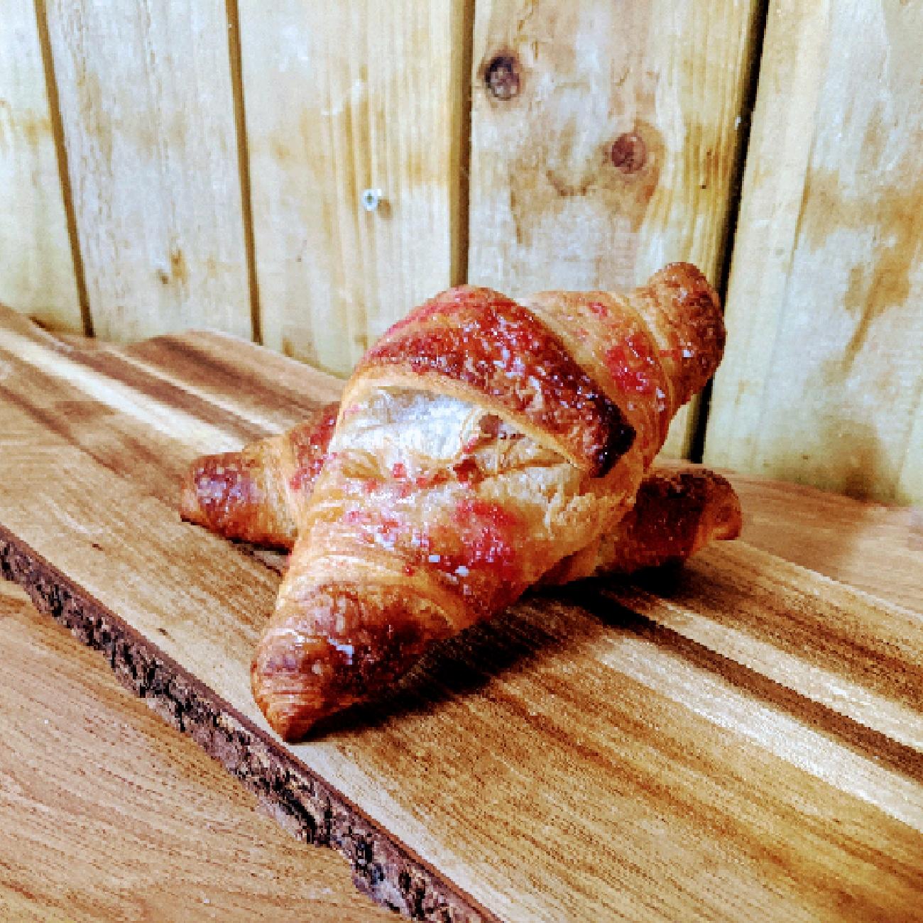 Vegan Raspberry Croissant