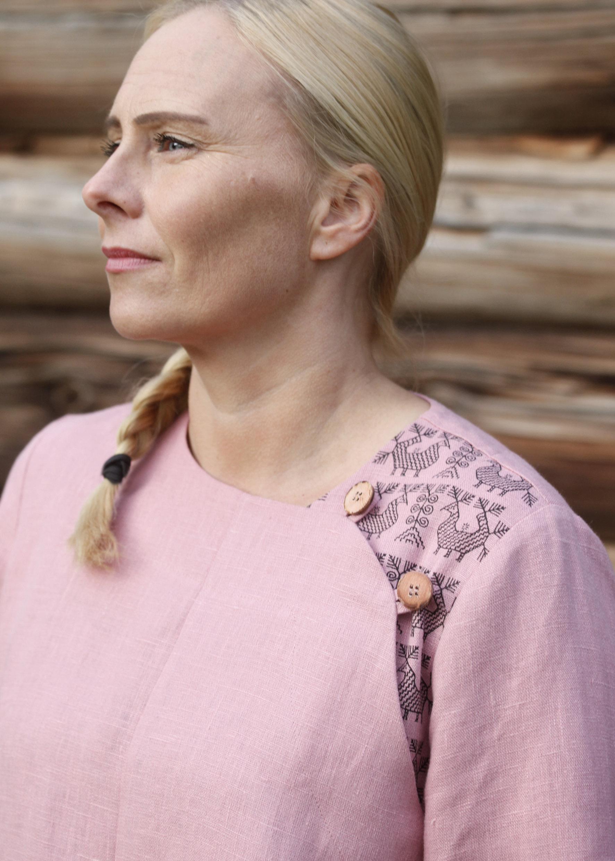 Joki- tunika Roosa