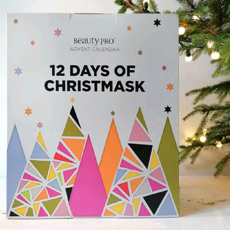 12 Days Of Christmask Advent Calendar