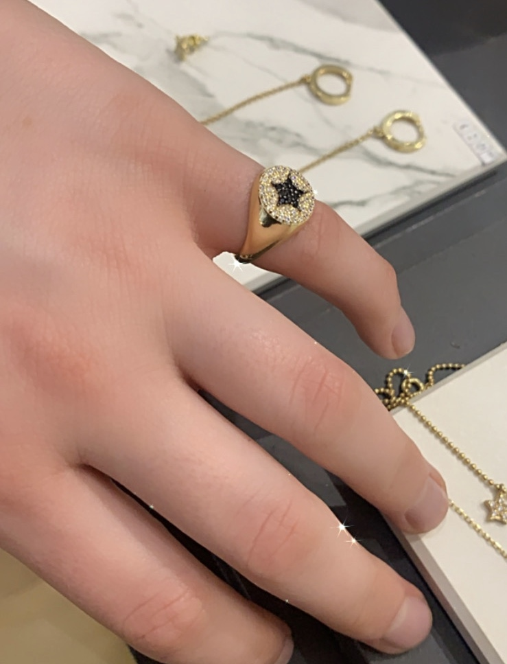 Eloise Pinky ring